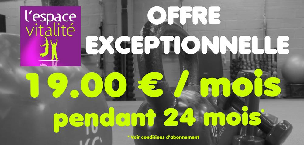 Votre abonnement à 19.00 € / mois pendant 2 ans !
