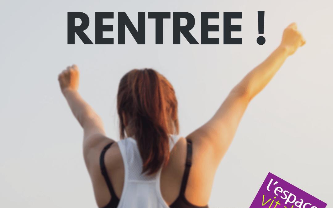 C'est la RENTREE !
